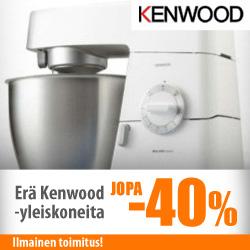 Erä Kenwood-yleiskoneita jopa -40%