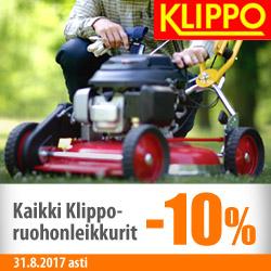 Kaikki Klippo-ruohonleikkurit -10%