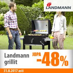 Landmann-grillit jopa -48%