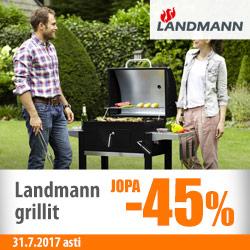 Landmann-grillit jopa -45%