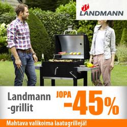 Landmann-grillit jopa -50%