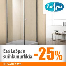 Erä LaSpan suihkunurkkia -25%