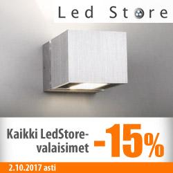 LedStoren seinävalaisimet -15%