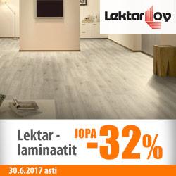 Lektar-laminaatit jopa -40%