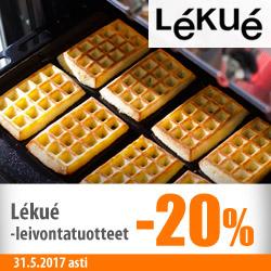 Lekue-leivontatuotteet -20%