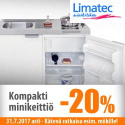 Limatec-minikeittiö -20%