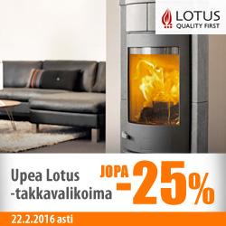 Lotus-takat jopa -25%