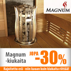 Magnum-kiukaita jopa -30%