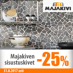 Majakiven sisustuskivet -25%