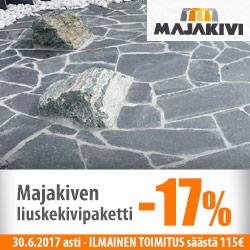 Majakiven liuskekivisetti -17%