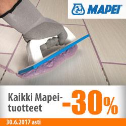 Kaikki Mapei-tuotteet -30%