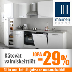 Marinelli Cucine -valmiskeittiöt jopa -29%