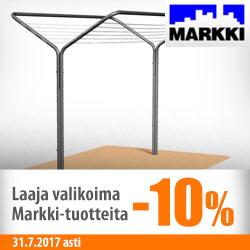 Laaja valikoima Markki-tuotteita -10%