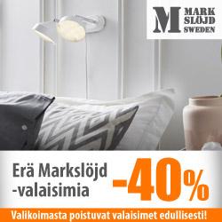 Markslöjd-poistovalaisimet -40%