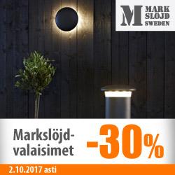 Markslöjd-valaisimet -30%