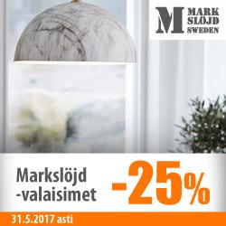 Markslöjd-valaisimet -25%