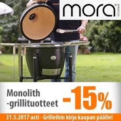 Monolith-grillituotteet -15%