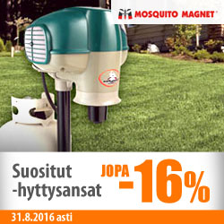 Mosquito Magnet -hyttysansat jopa -16%