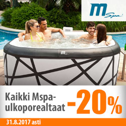 Mspa-ulkoporealtaat -20%