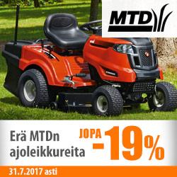 Erä MTD-ruohonleikkureita jopa -19%