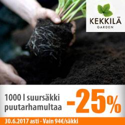 Kekkilän puutarhamulta suursäkissä -25%