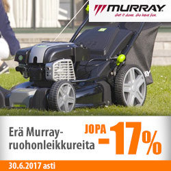 Murray-ruohonleikkureita jopa -17%
