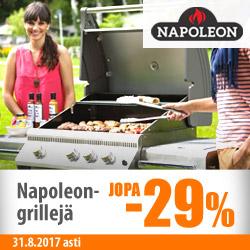 Nepoleon-grillejä jopa -29%