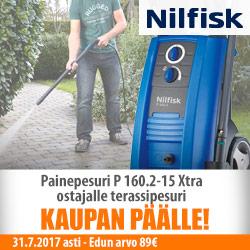 Nilfisk Painepesuri P 160.2-15 Xtra 499€
