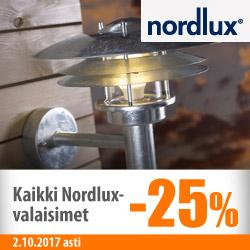 Kaikki Nordlux-valaisimet -25%