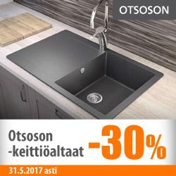 Otsoson-keittiöaltaat -30%