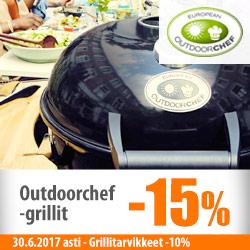 Outdoorchef-grillit -15%