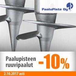 Paalupisteen ruuvipaalut -10%