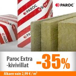 Paroc Extra -kivivillat -35%