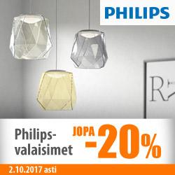 Kaikki Philips-valaisimet jopa -20%