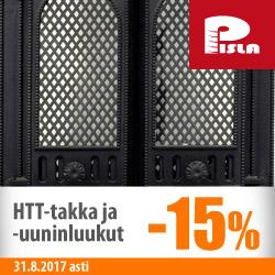 Pislan HTT takka- ja uuniluukut -15%