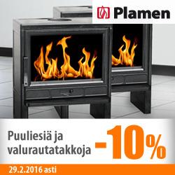 Plamen-tulisijoja -10%
