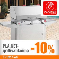 PLA.NET-grillit -10%