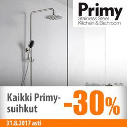 Primy-suihkut -30%