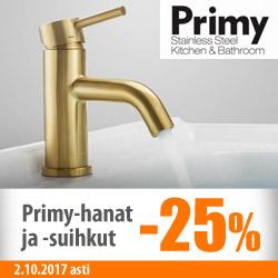 Kaikki Primy-hanat ja -suihkut -25%