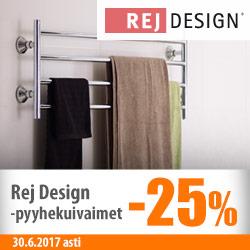 Rej Design -pyyhekuivaimet -25%