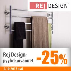Rej Design-pyyhekuivaimet -25%