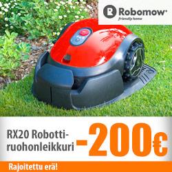 Robomow RX20 -robottiruohonleikkuri -200€