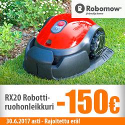Robomow RX20 -robottiruohonleikkuri -20%