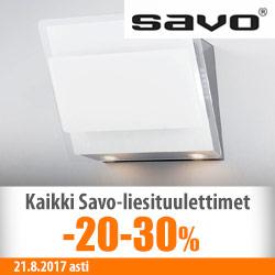 Savo-liesituulettimet jopa -30%
