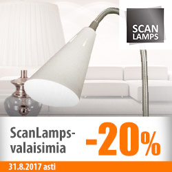 ScanLamps-valaisimia -20%