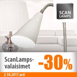 Kaikki Scanlamps-valaisimet -30%