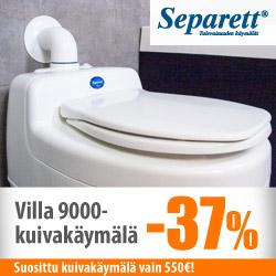 Separett Villa 9000 -kuivakäymälä -37%