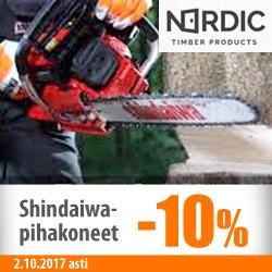 Shindaiwa-pihakoneet -10%