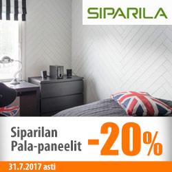 Siparilan Pala-paneelit -20%