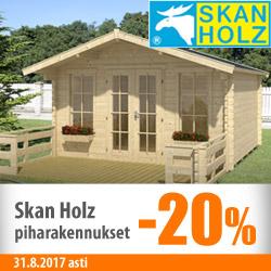 SkanHolz-piharakennukset -20%